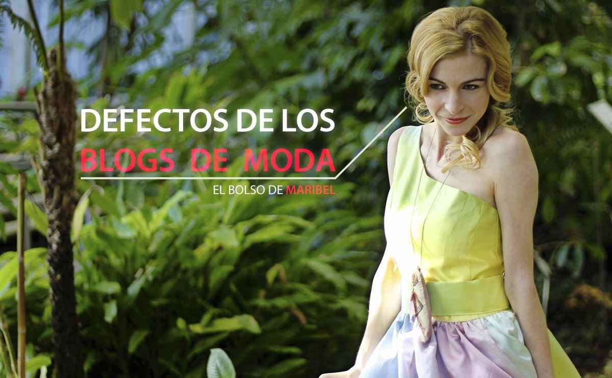 7 defectos en los blogs de moda