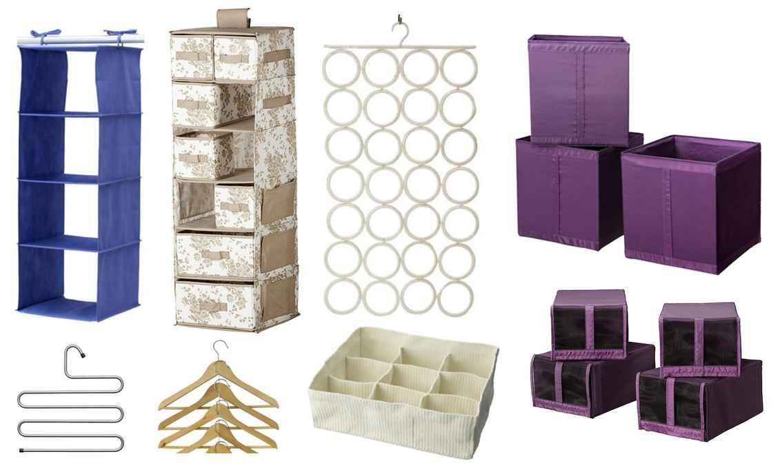 Decoracion mueble sofa organizadores cajones ikea for Cajas para guardar ropa armario