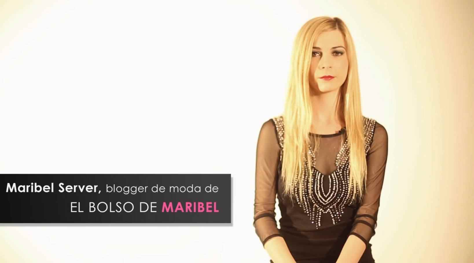 Blogger de moda Maribel Server