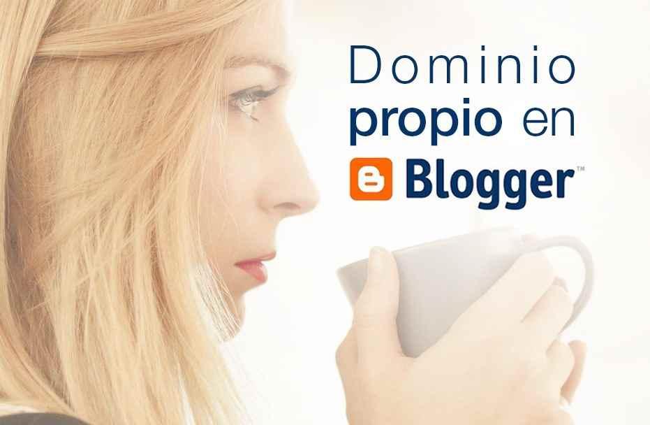 Comprar y cambiar el dominio en blogger por uno propio