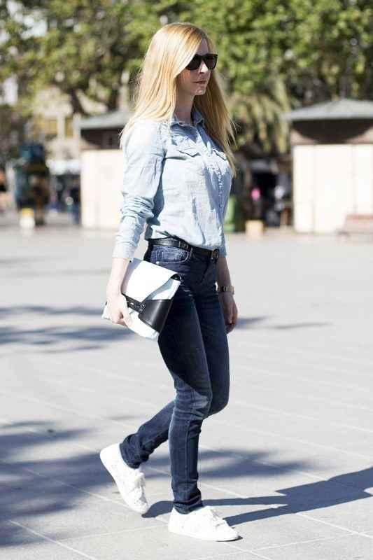 YO ESTILO u00bfCu00f3mo combinar zapatillas blancas para crear un look con estilo?