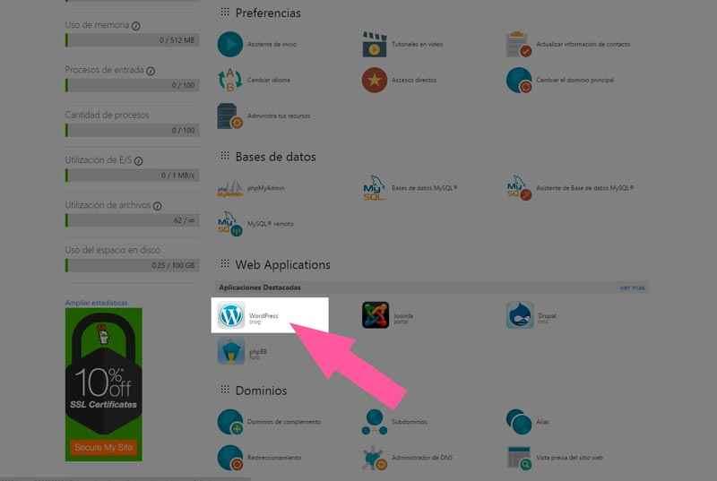 Cómo creo un blog con WordPress?