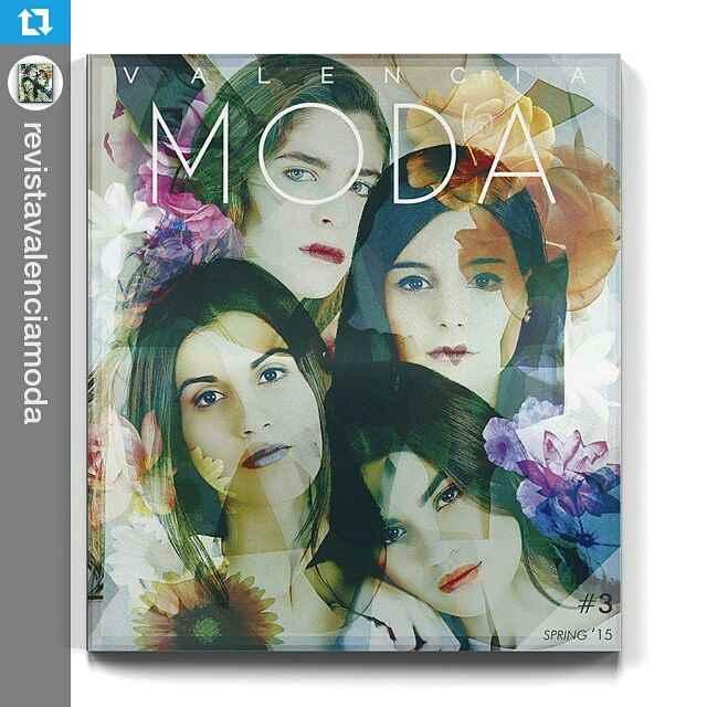 Cover in @revistavalenciamoda by me? #Repost @revistavalenciamoda ・・・ Ya está aquí #ValenciaModa3. Las protagonistas de la portada son: @teresaandresgonzalvo @maria_bernad @meryturiel y @martalozanop. El artwork es de la artista @mireiajade. Podéis ver la revista completa en valenciamoda.com