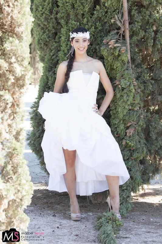 La novia se vista de blanco. El Bolso de Maribel. Blog de moda