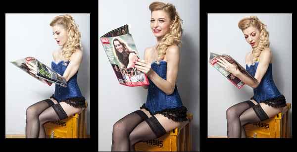 More and More Pin Up! El Bolso de Maribel. Blog de moda y fotografía