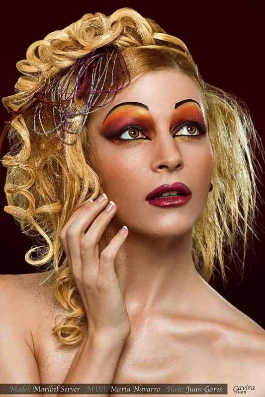 Maquillaje y sesión de fantasía en El Bolso de Maribel. Blog de moda