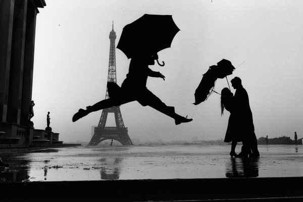 Elliott Erwitt, mis fotografos. Salto París