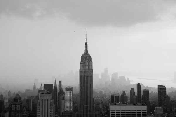 Elliott Erwitt, mis fotografos. Empire State Building