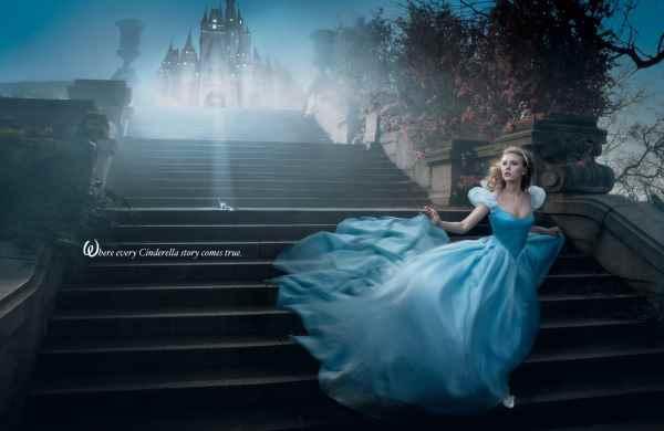 Annie-Leibovitz-Disney-Cenicienta-Scarlett-Johansson