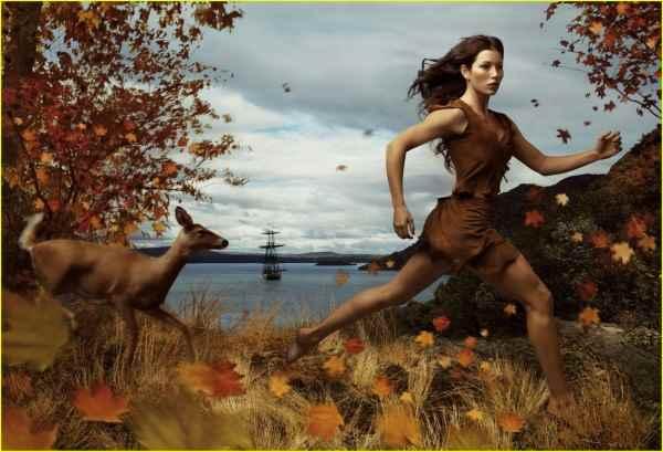 Annie-Leibovitz-Disney-Pocahontas-Jessica-Biel