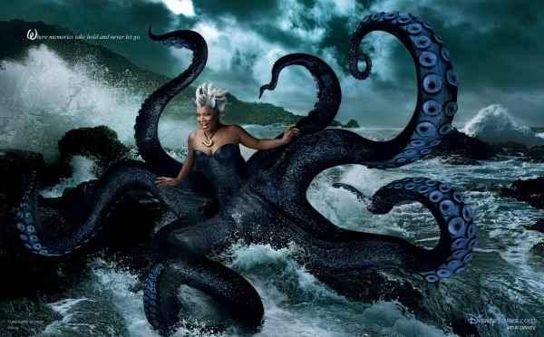 Annie-Leibovitz-Disney-Sirenita-Ursula-Oprah