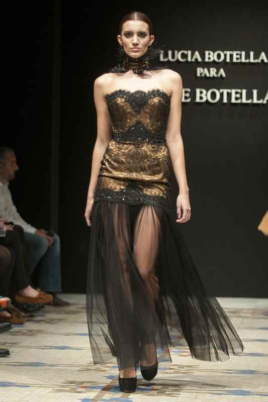 Couture de Lucía Botella para Pepe Botella. XVI 16 Valencia Fasion Week VFW 2013