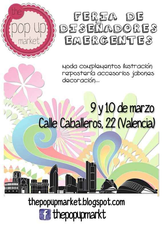 Pop Up Market Fallas 2013