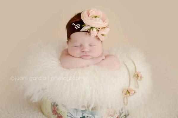 Juani García, fotografía de recién nacidos
