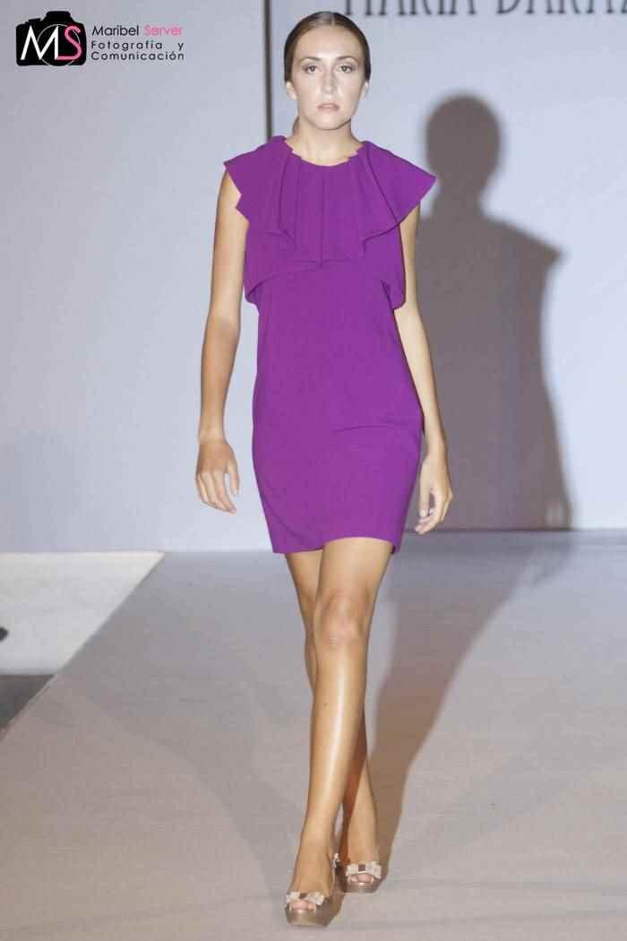 Maria Baraza XV Valencia Fashion Week VFW Back to future