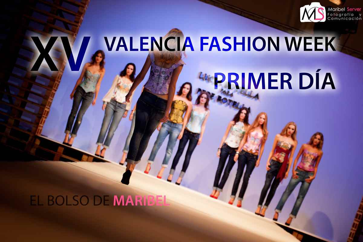 Primer dia jueves XV Valencia Fashion Week VFW