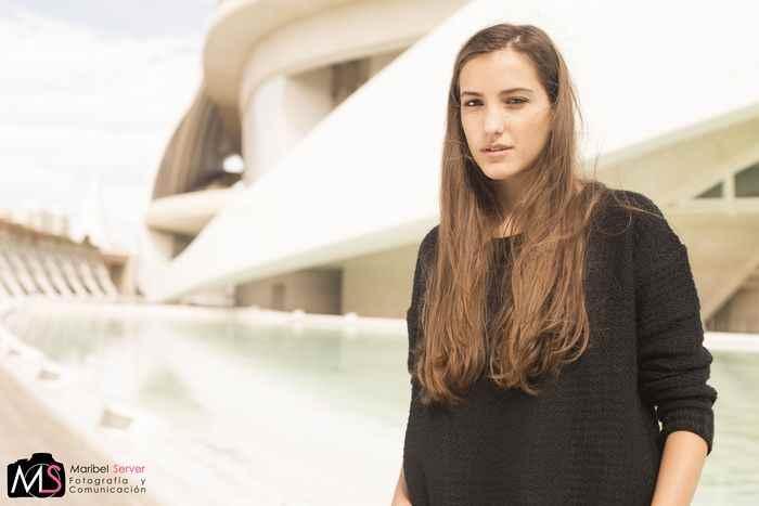 Ana Shkauron modelo Valencia Fashion Week