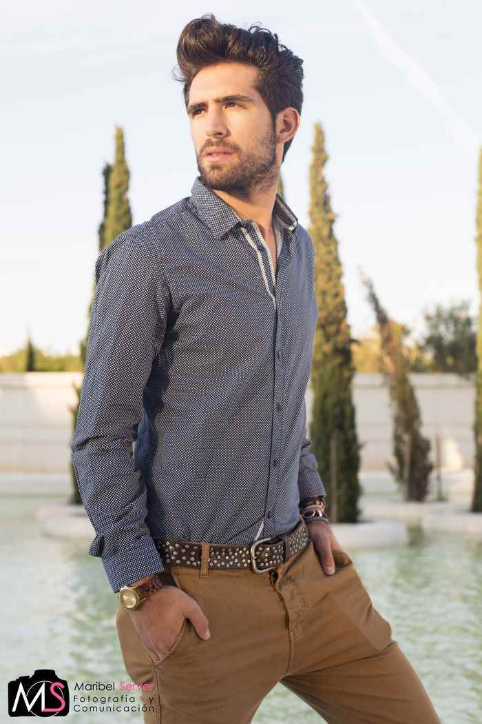 Ruben Roman modelo Valencia Fashion Week