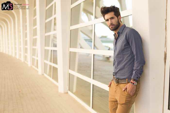 Ruben Roman modelo Valencia Fashion Week