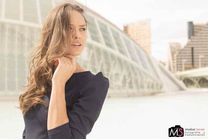 Victoria Titica modelo Valencia Fashion Week