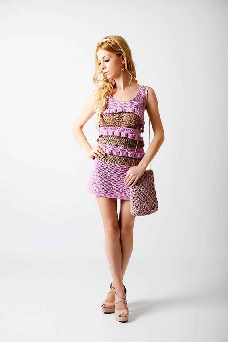 Vestido corto Patricia Adam