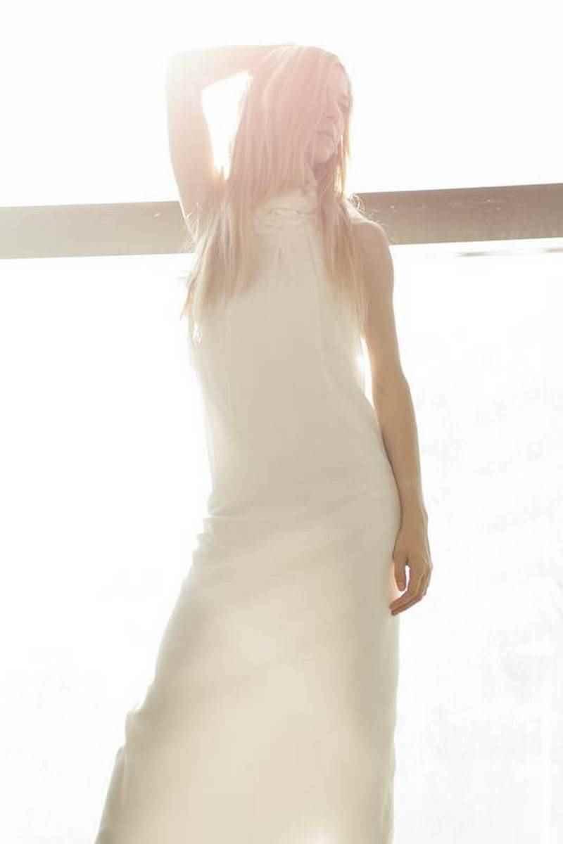 Vestido novia Francisco Benavente