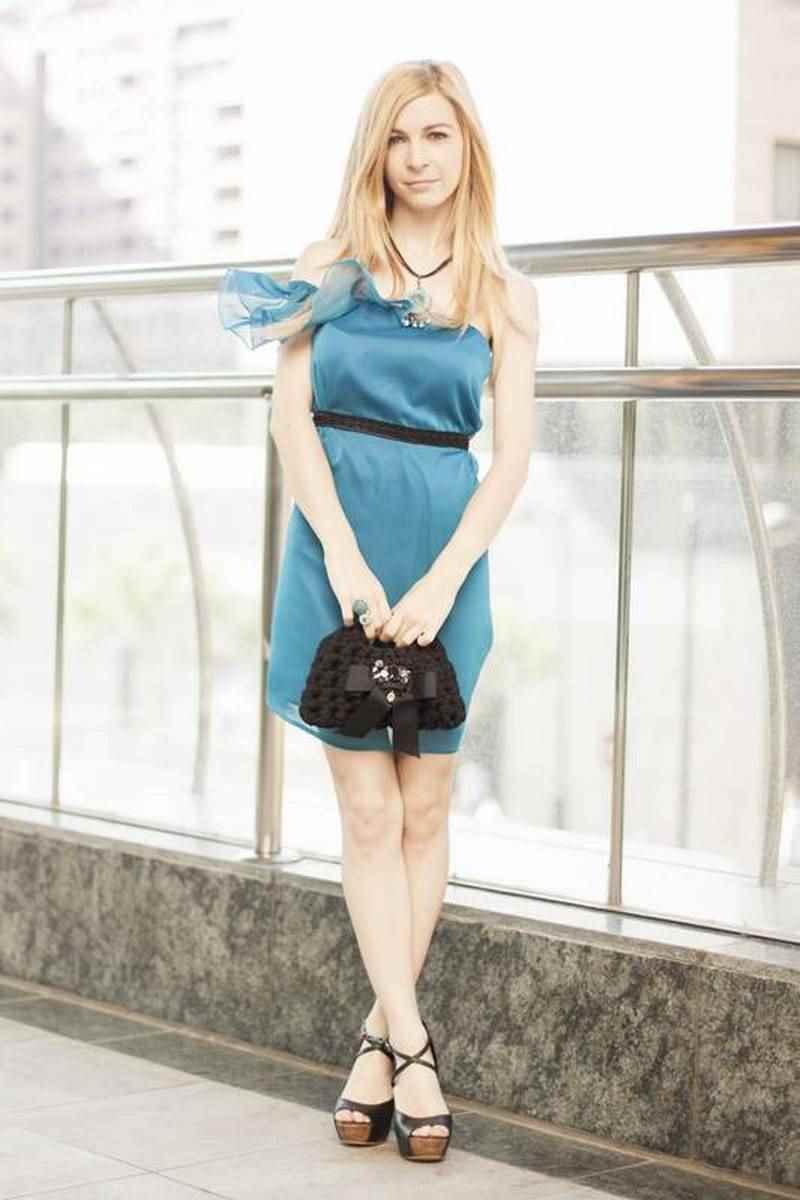 Vestido azul Daluna