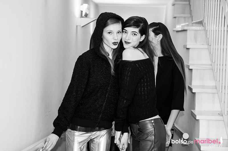 Backstage XVI Valencia Fashion Week 2014, Bibian Blue