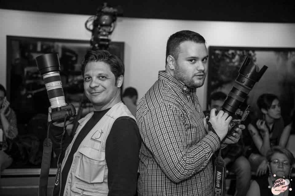 Juanjo Herrero y Francesc Juan, fotógrafos