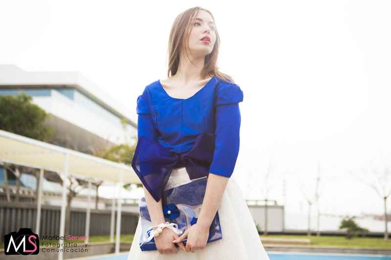 Blusa y falda de Carla Tomás