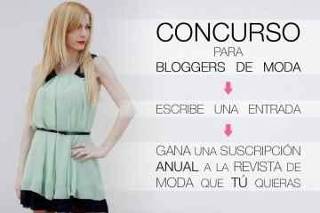 Concurso bloggers de moda