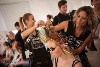 Backstage XVII Valencia Fashion Week 2014