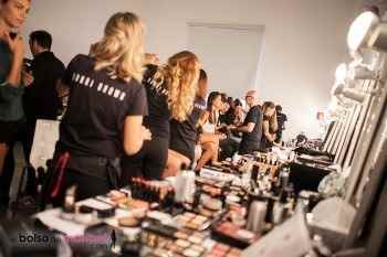 Backstage XVII Valencia Fashion Week 2014