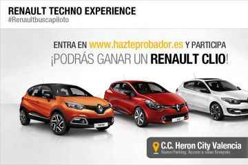 Renault en Valencia con los bloggers