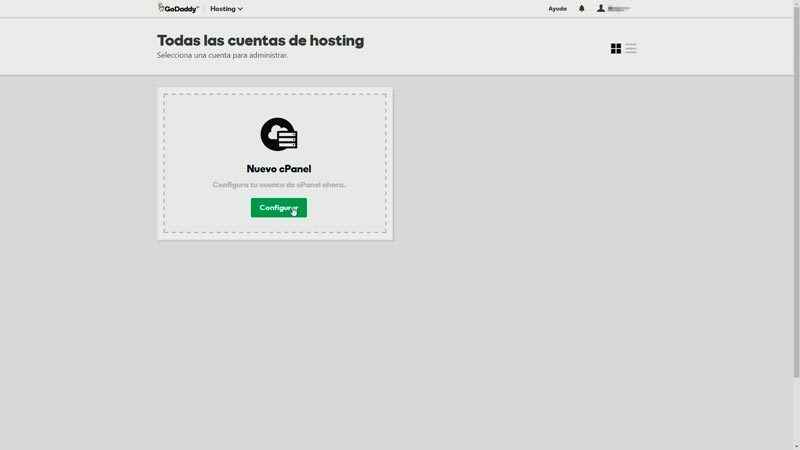 Instalar cPanel para blog WordPress