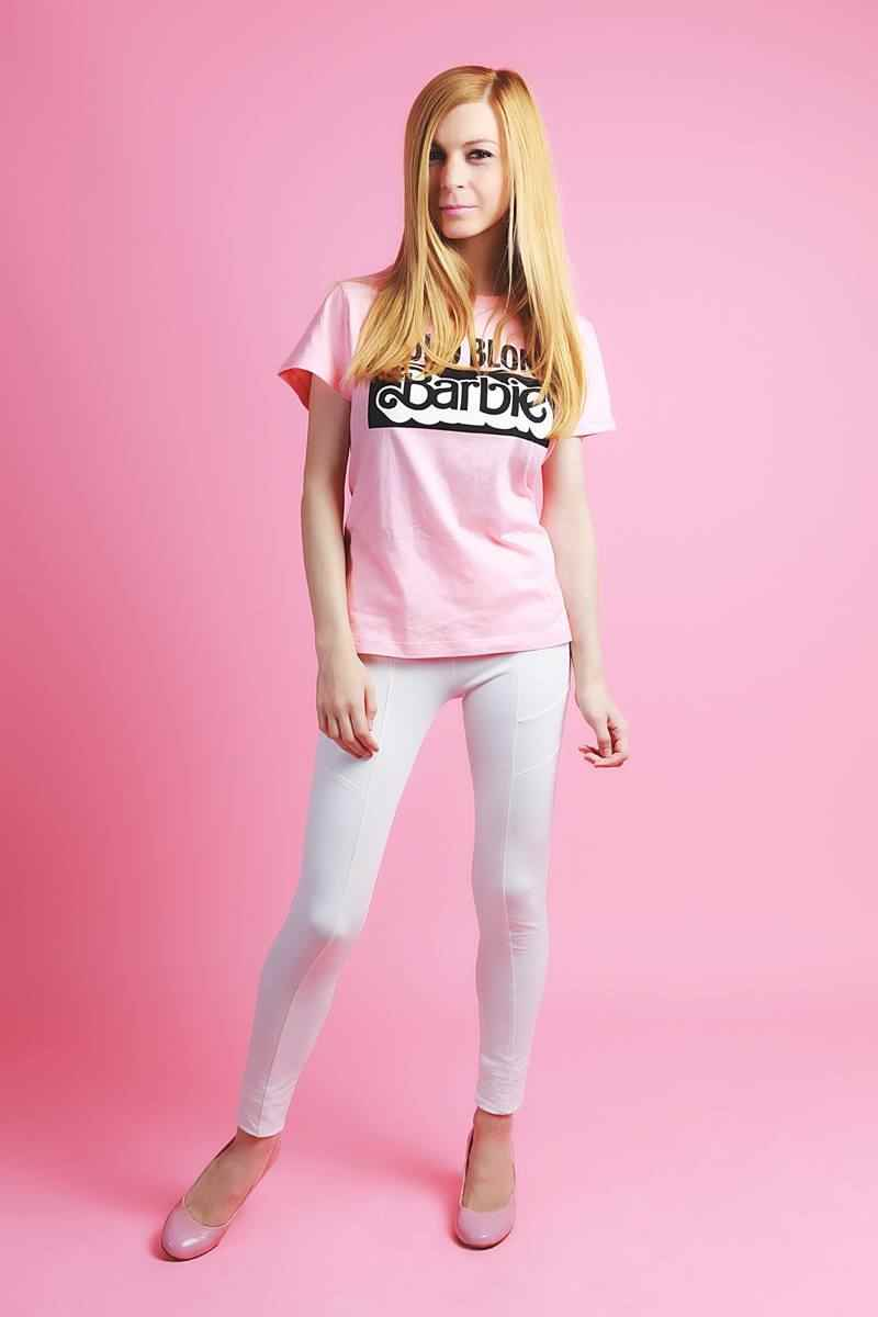 Camiseta de Zara Barbie