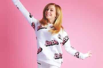 Sudadera Barbie de Zara